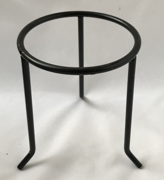 1pc Laboratory Circular Tripod Stands , 120mm Sides, 200mm High, Metal, Non Flammable Paint