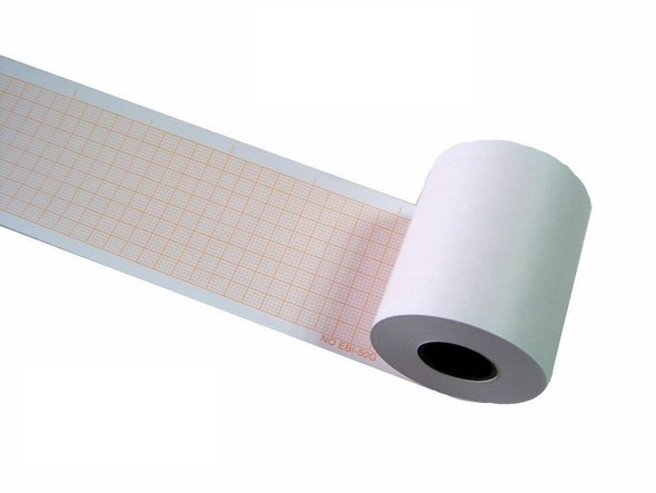 ECG Paper, Electrocardiogram Paper roll Thermal Paper 50mm x 30m, Pkt of 2 Pc