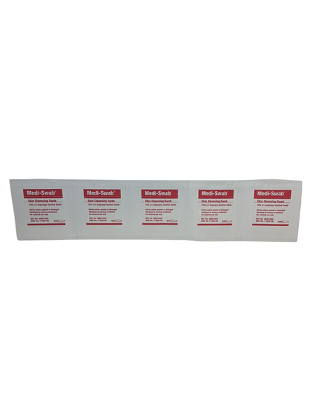 Alcohol Wipes , Medical Wipes / Medi Swabs - Sterile Screen Cleaners, pkt of 200 pcs