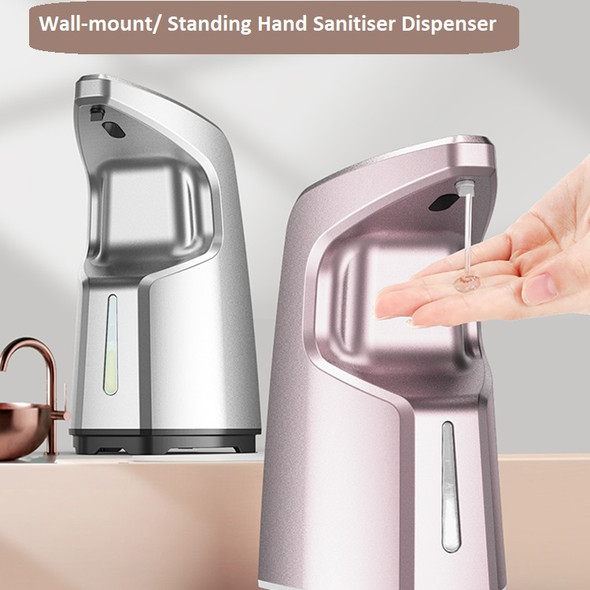 Dispenser, Automatic Hand Sanitizer Dispenser hands Free Touchless , Wall Mounted & Standing, Fancy, Liquid Alcohol Gel Soap Dispenser Infrared
