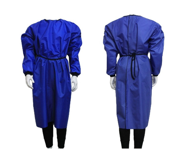 Reusable, washable Isolation Cover Gown, Waterproof AAMI Lev