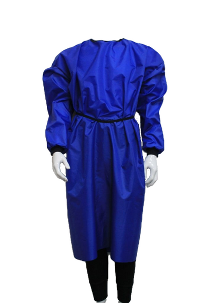 Reusable, washable Isolation Cover Gown, Waterproof AAMI Level 3 Certified,  TGA approved. One pkt