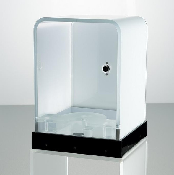 VisioFace lite - Small, Shapely Device for Full Face Photography and Automatic Image Analysis