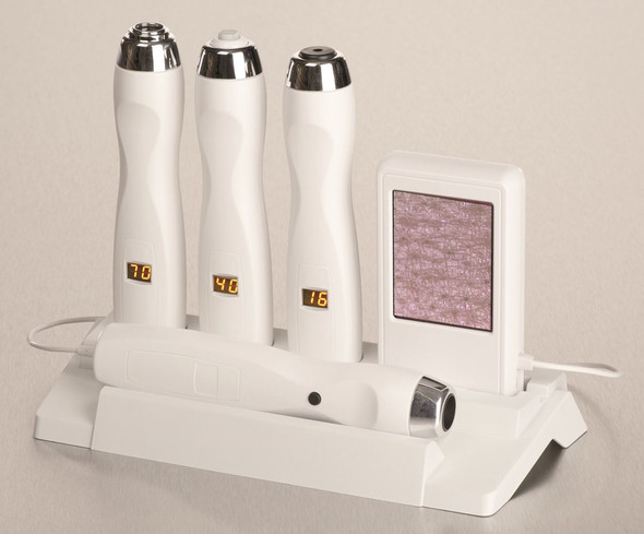 Pen Station PS 100 Measuring: Moisture, Sebum and Melanin (Pigment) , Pen-shaped Probes & Camera with Handheld Monitor System