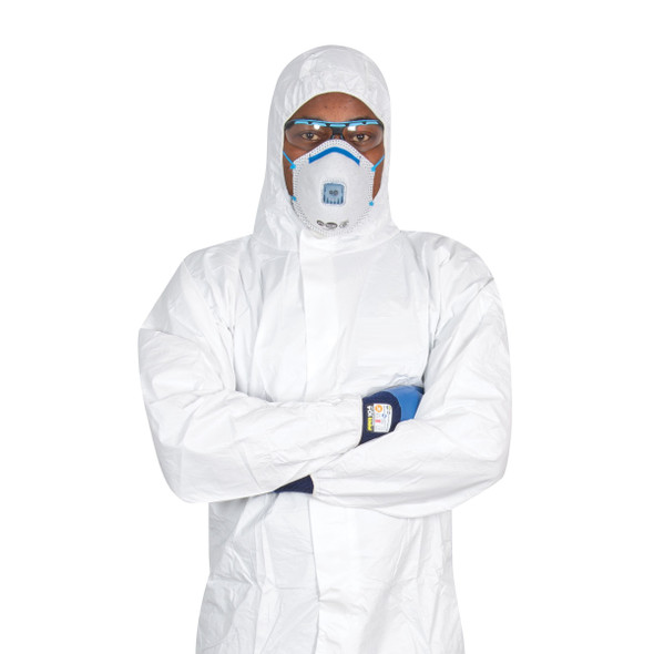 SMS COVERALL TYPE 5/6  Disposable Coverall, White Overalls,