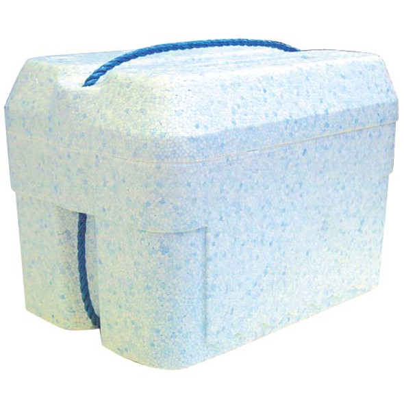 Foam Cooler Box, 6 Litres, 260 x 180 x 210 mm, with Lid, Each (611120)