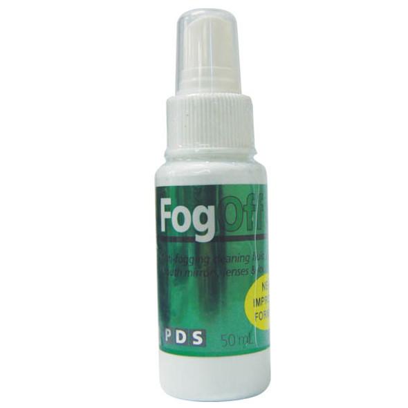 PDS Fog Off Solution Spray, 50ml Bottle, For Mirror, Each (33707)