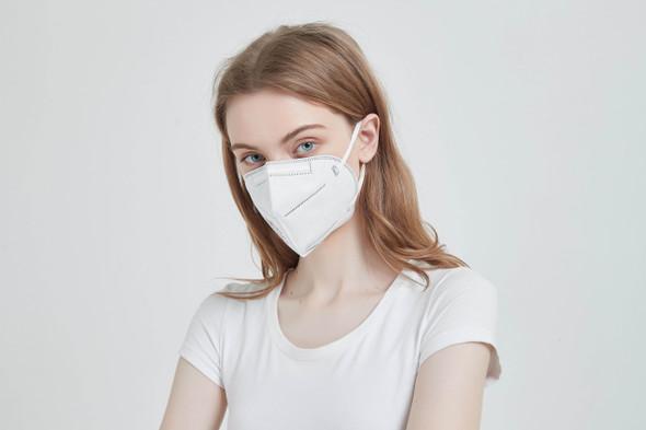 40PCS,  KN95/ P2 Face mask Particular respirator with 4-laye