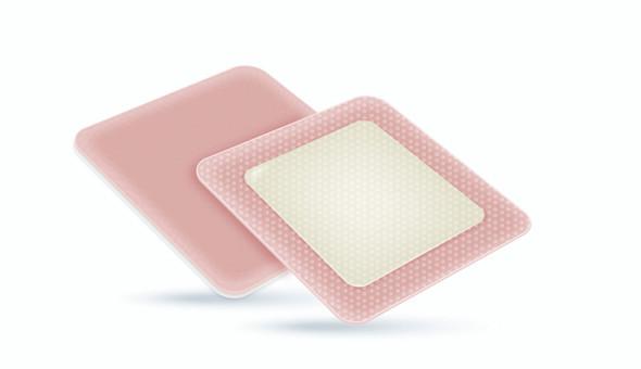 Activheal Silicon Adhesive Foam Lite Border 5.5 X 12cm - 10pcs/Box