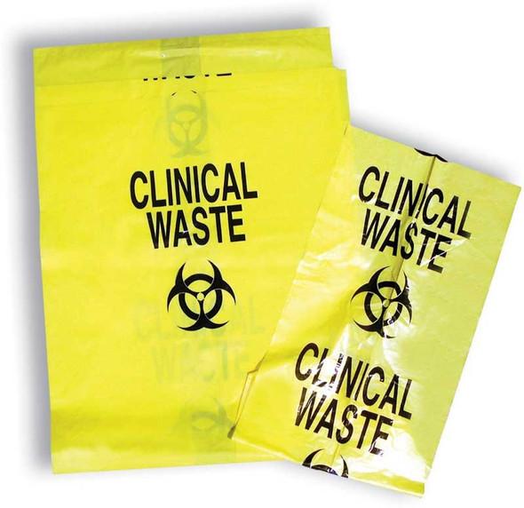 20 pieces Bag Clinical Waste 565 x 990 mm 55 L 50 Um - CW003