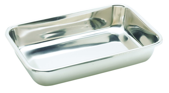 Instrument Trays, 460 x 360 x 65mm, 26g, Stainless Steel, Without Cover