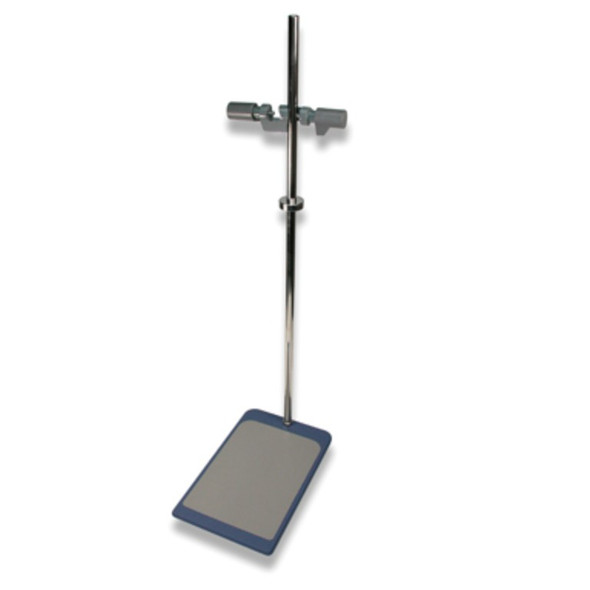 Stand For Stirrer Complete Inc Support Holder and Fixing Device,Stand Base: 21 x 31cm, Rod: 78cm, Each