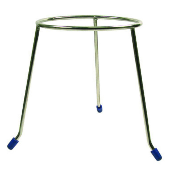 Tripod Stand Round 150mm - Stainless Steel - Circular Ring 1