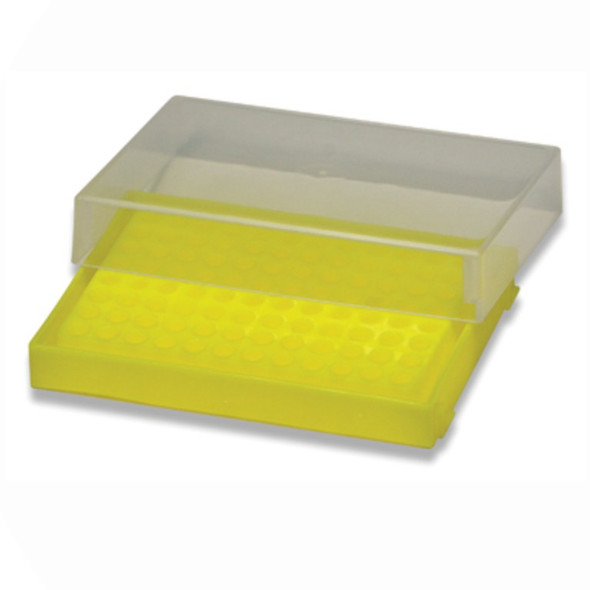 Rack PCR Tubes 96 Place Yellow, Each