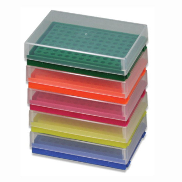 Rack PCR Tubes 96 Place Assorted,PK5