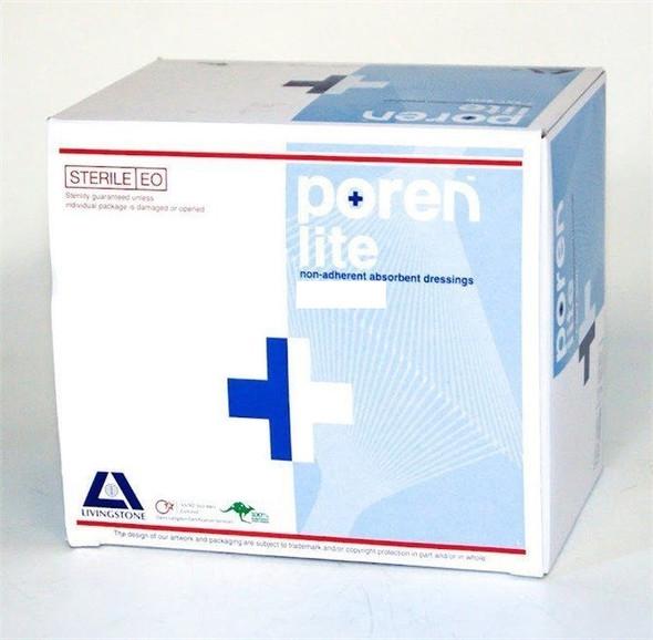 Poren Lite Absorbent Pad Non Adherent Dressing 7.5x5cm , 100pcs/box