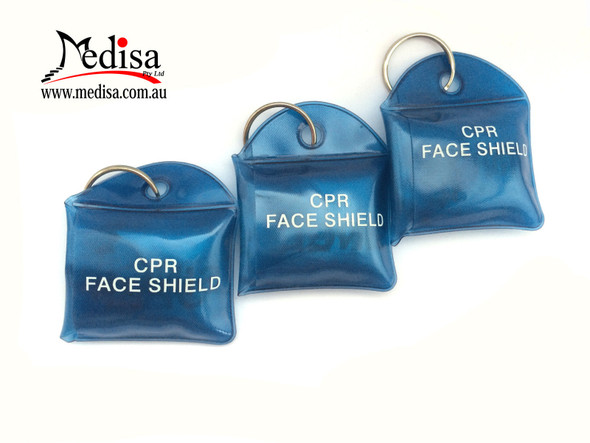 Resus-O-Mask With Key Ring RESUS MASK CPR RESUSCITATION SHIELD