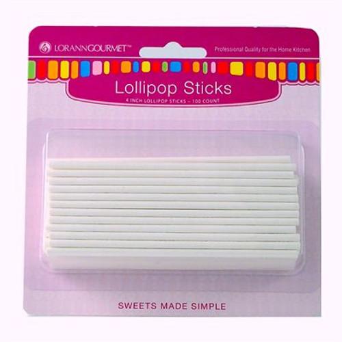 Lollipop Sticks Small - 100 pack