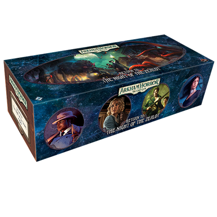 ARKHAM HORROR LCG: RETURN TO THE NIGHT OF THE ZEALOT EXPANSION