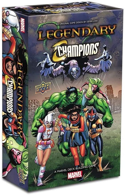 LEGENDARY: A MARVEL DECK BUILDING GAME - CHAMPIONS SMALL BOX