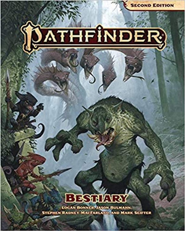 PATHFINDER RPG - SECOND EDITION: BESTIARY