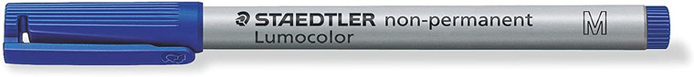WATER SOLUBLE MARKER: BLUE