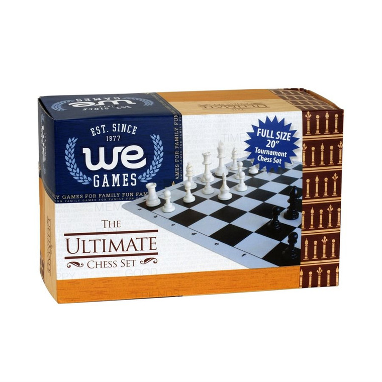 ULTIMATE CHESS SET - SILICONE GREEN