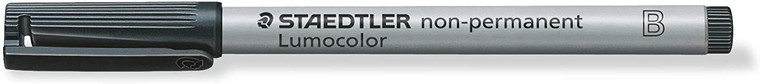 WATER SOLUBLE MARKER: BLACK