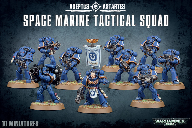 WARHAMMER 40,000: SPACE MARINES - TACTICAL SQUAD