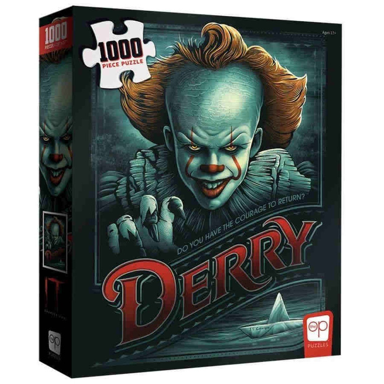 IT CHAPTER TWO: RETURN TO DERRY 1000 PIECE PUZZLE