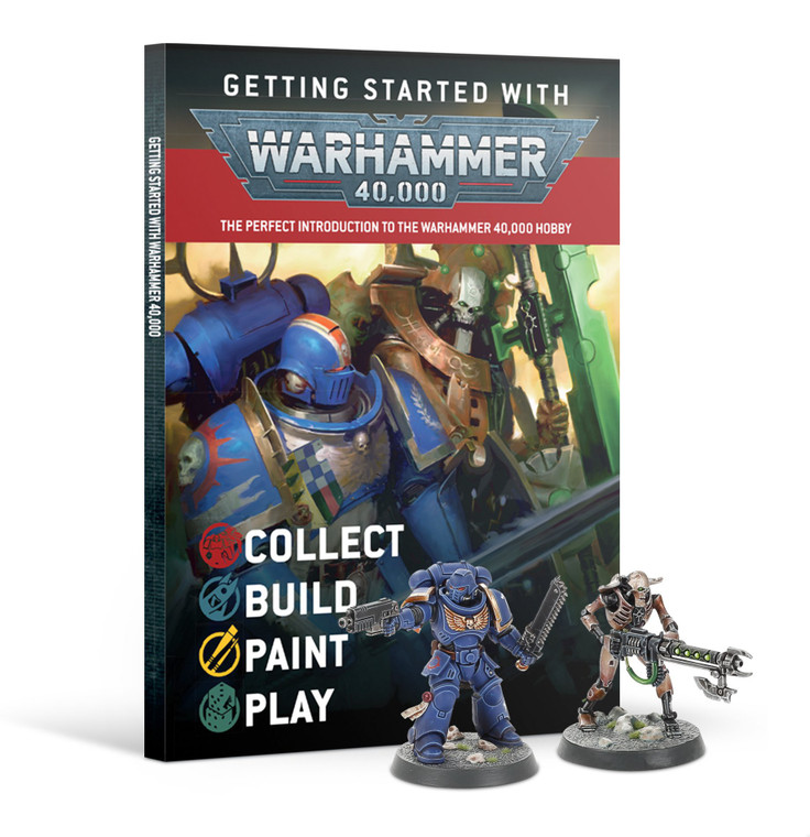 GETTING STARTED WITH: WARHAMMER 40,000