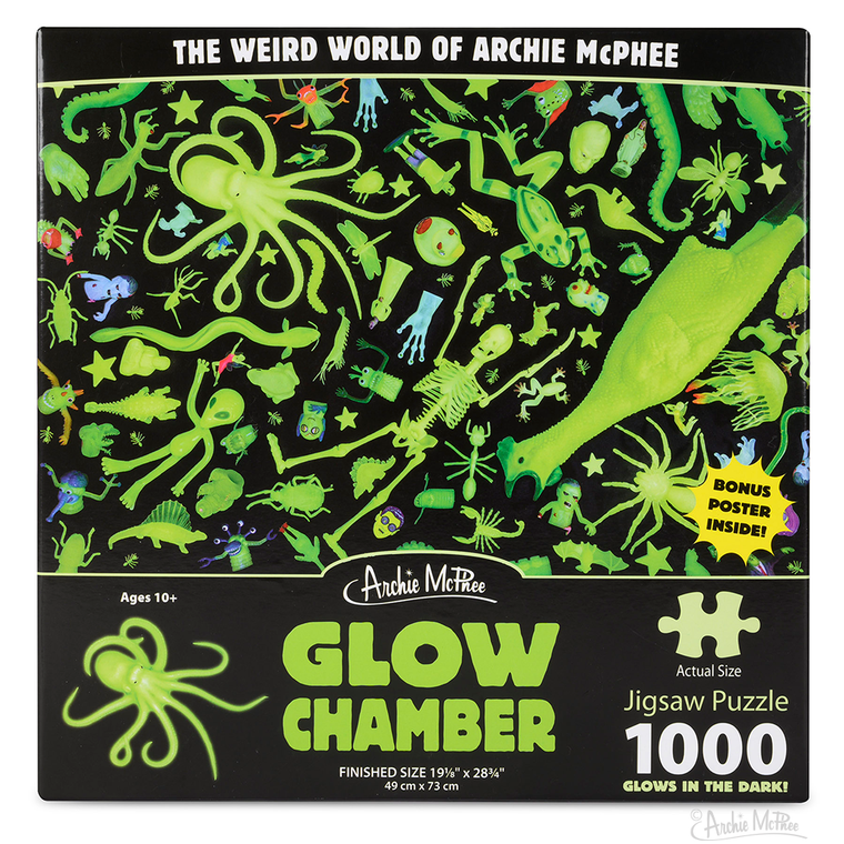 GLOW CHAMBER 1000 PIECE PUZZLE