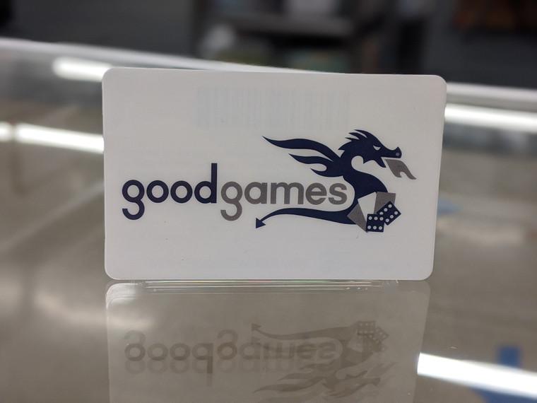 IN-STORE GOOD GAMES US GIFT CARD (RELOADABLE)