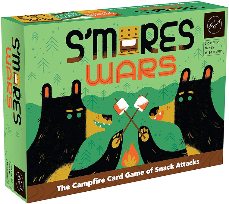 S'MORES WARS: THE CAMPFIRE CARD GAME OF SNACK ATTACKS
