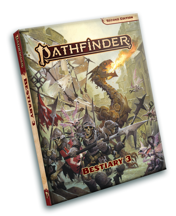 PATHFINDER RPG - SECOND EDITION: BESTIARY 3