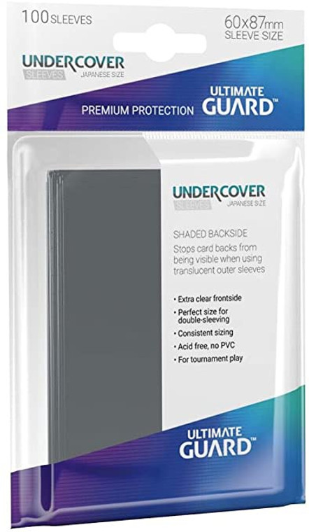 PRECISE FIT UNDERCOVER JAPANESE SIZE SLEEVES (100CT)