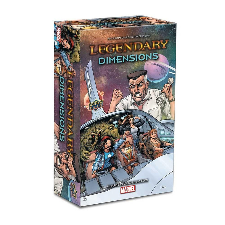 LEGENDARY: A MARVEL DECK BUILDING GAME - DIMENSIONS SMALL BOX EXPANSION