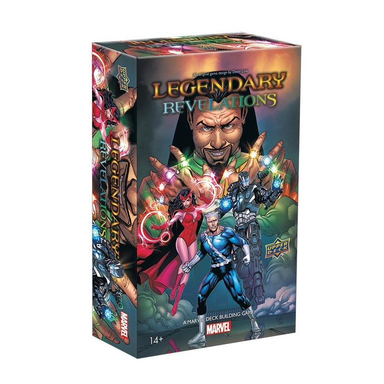 LEGENDARY: A MARVEL DECK BUILDING GAME - REVELATIONS DELUXE SMALL BOX EXPANSION