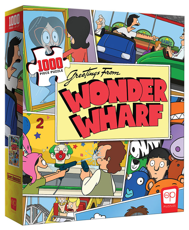 BOB'S BURGERS: GREETINGS FROM WONDER WHARF 1000 PIECE PUZZLE