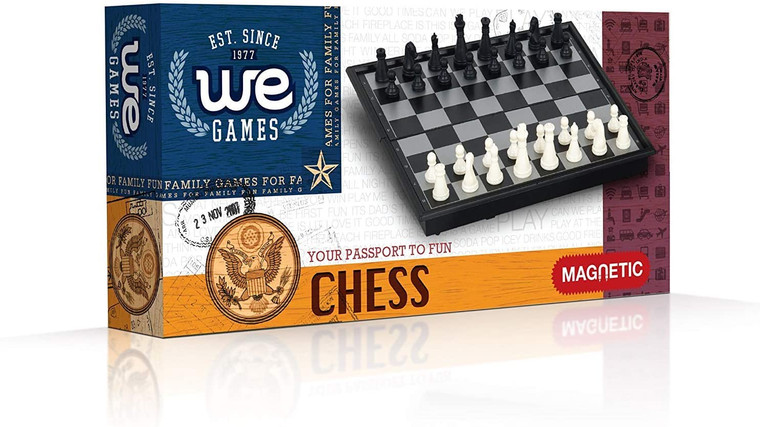 """CHESS SET 8"""" MAGNETIC"""