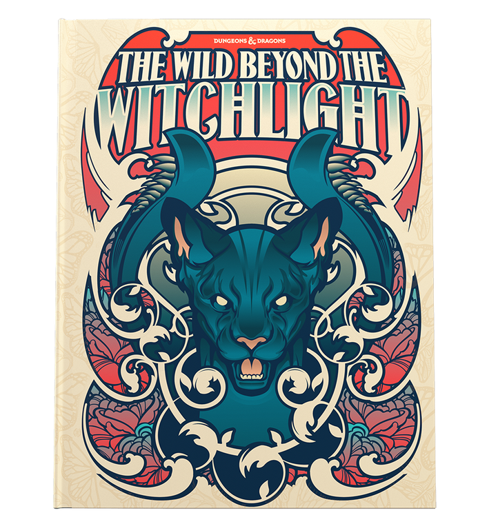 DUNGEONS & DRAGONS 5E: THE WILD BEYOND THE WITCHLIGHT (ALTERNATE COVER)
