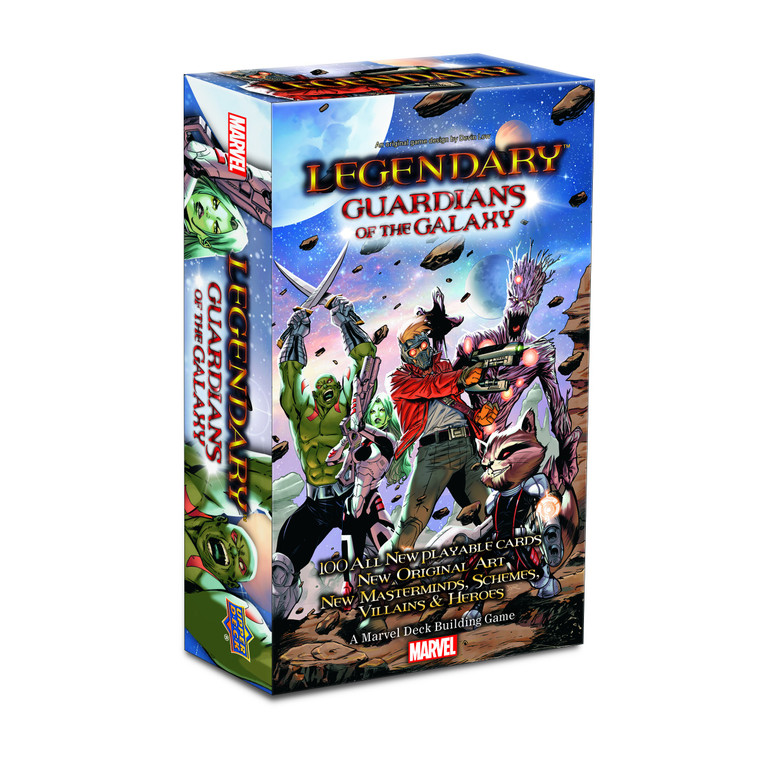 LEGENDARY: A MARVEL DECK BUILDING GAME - GUARDIANS OF THE GALAXY SMALL BOX EXPANSION