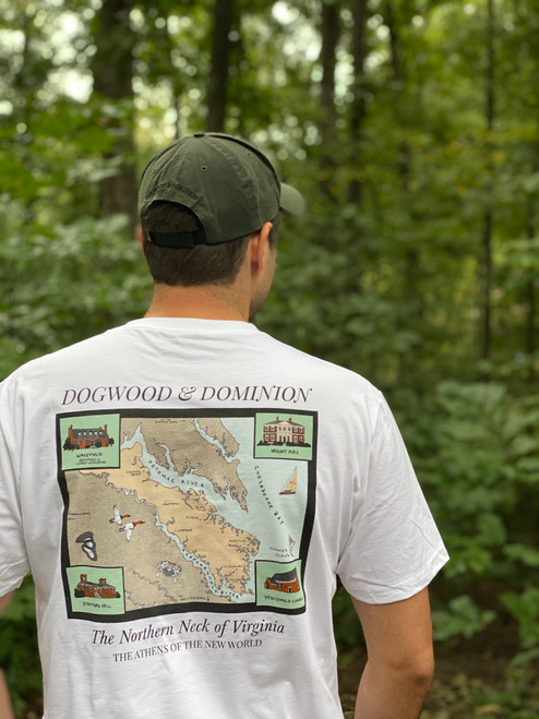 Northern Neck of Virginia Pocket Tee