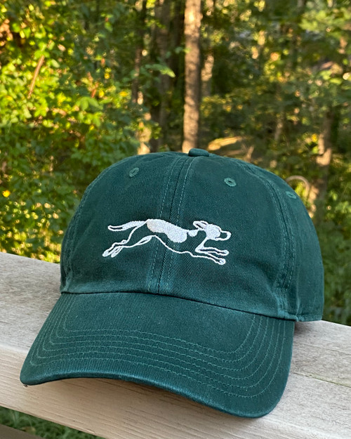 Dogwood & Dominion Logo, Forest Green Hat, Foxhound Hat, Foxhound Cap,