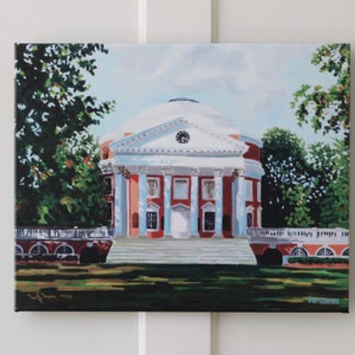 UVA Rotunda Print