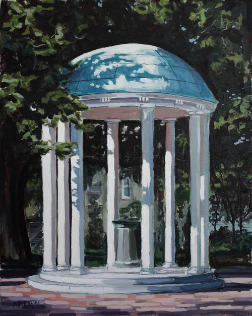 UNC Chapel Hill Old Well Print