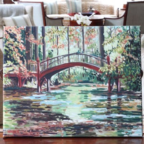 William and Mary Crim Dell Bridge Print