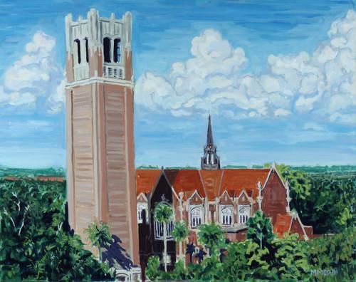 University of Florida Century Tower Print