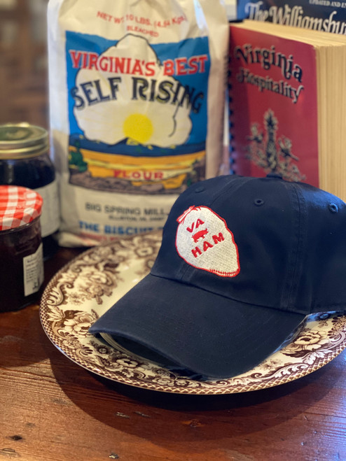Virginia Ham Hat in Navy