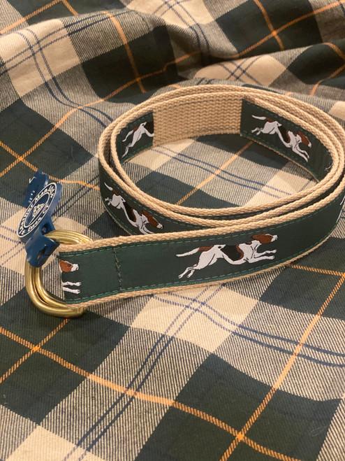 Foxhound D-Ring Motif Belt